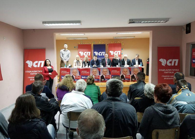 Јовић: Глас за Петра Ђокића и социјалисте је глас за стабилну економију и равномјеран развој Српске