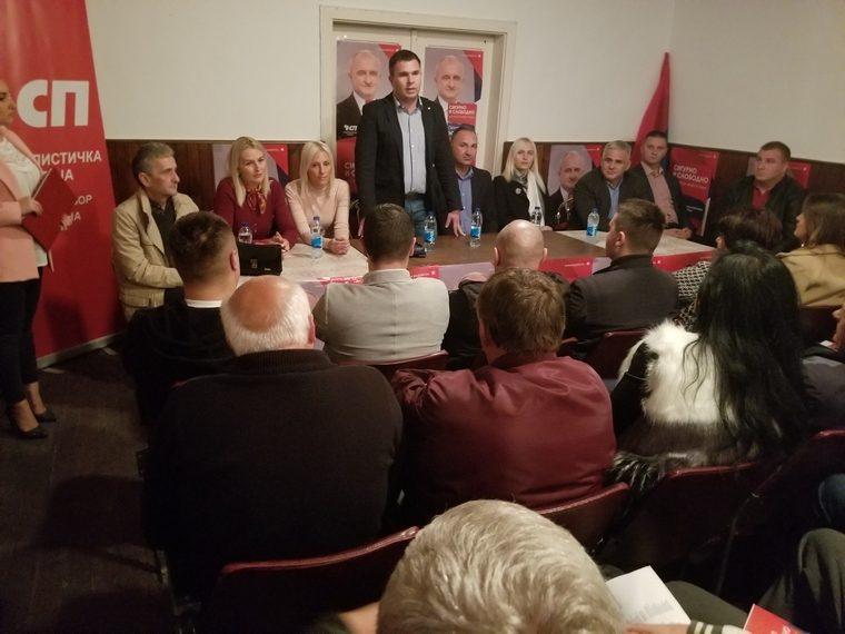 Социјалисти на трибини у Балатуну